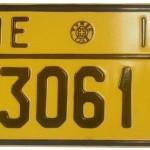 CAR LICENSE PLATES