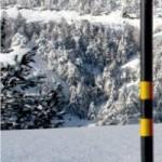 SNOW MARKING POSTS