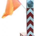 ELECTROMECHANICAL FLAG-WAVER